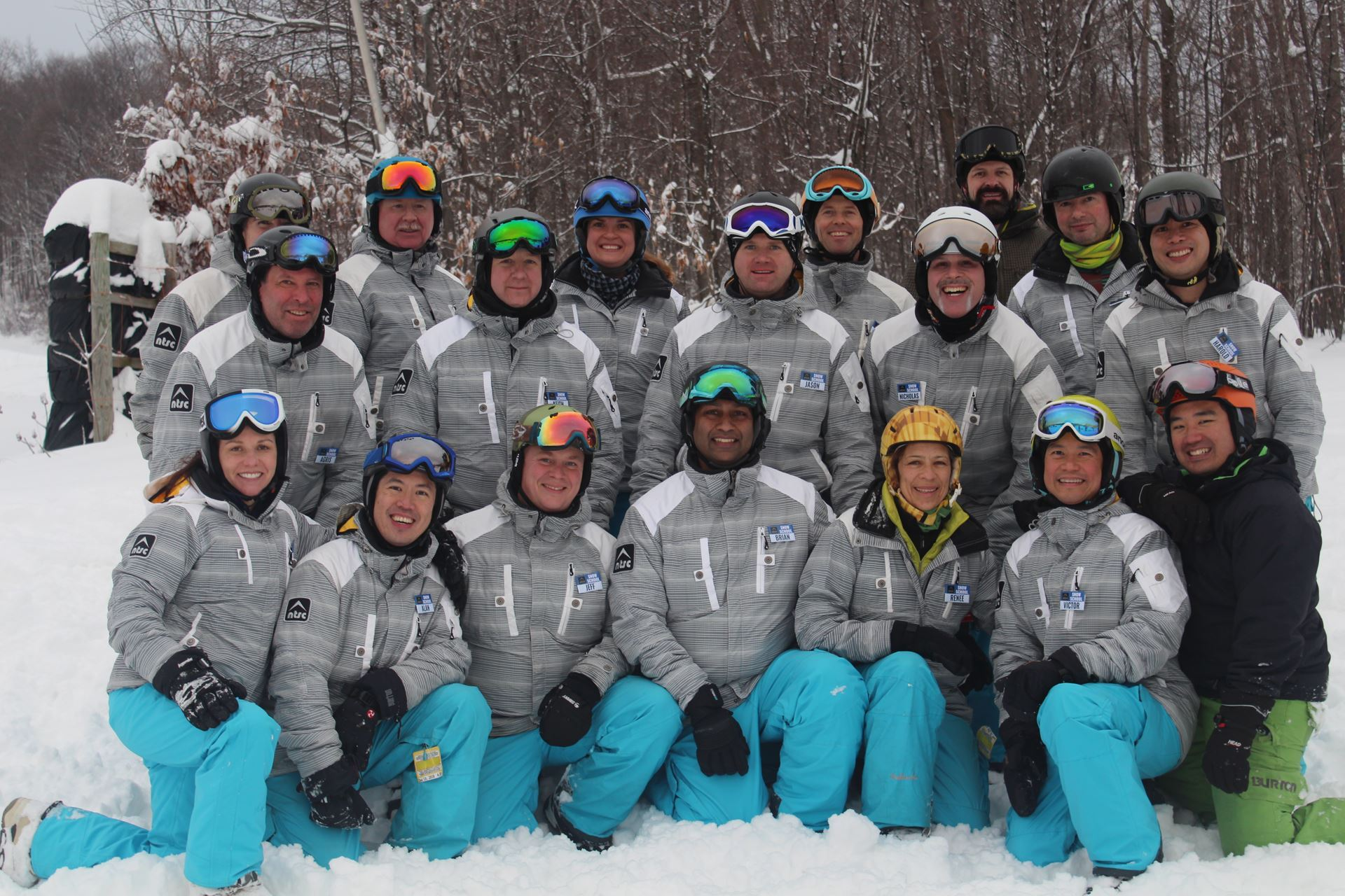 [Group Photo of Snowboard instructors]
